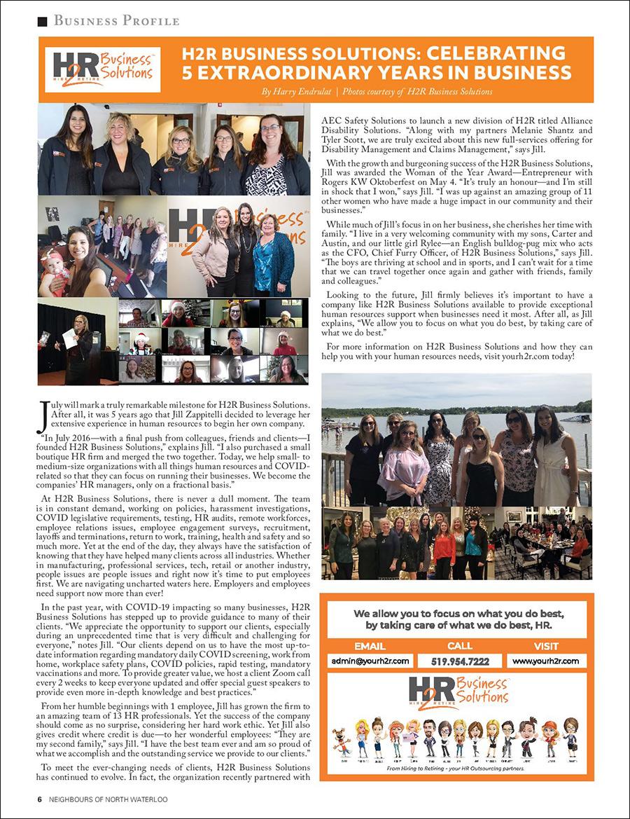 H2R Business Profile