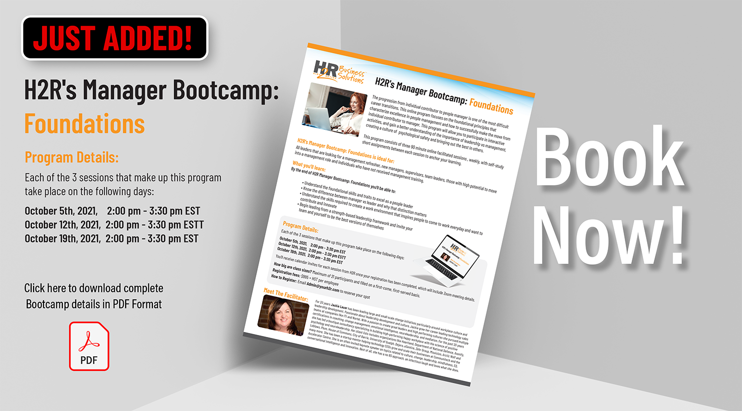 Bootcamp Foundations October 2021